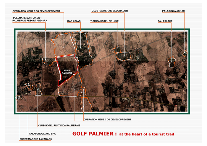 TOURISTIC AND RESIDENTIAL COMPLEX GOLF PALMIER
