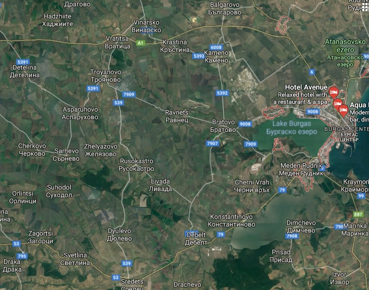 Land for Sale in Debelt Bulgaria.