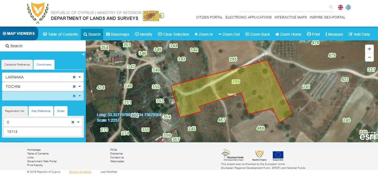 Land for Sale in Tochni Laranca Cyprus
