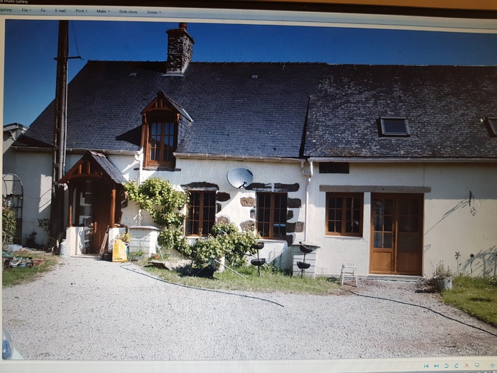 House for sale in Le Flechin Sarthe France