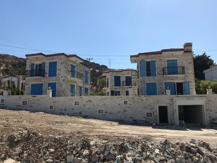 Three New Villas For Sale in Foca Izmir Turkey