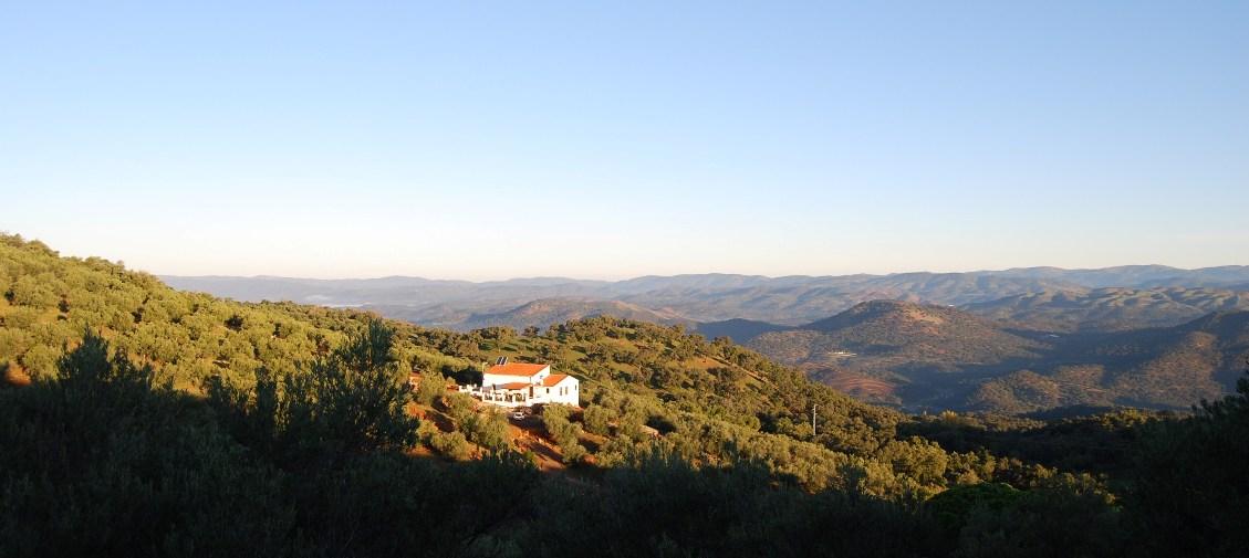 Finca Halcon, Aracena National Park