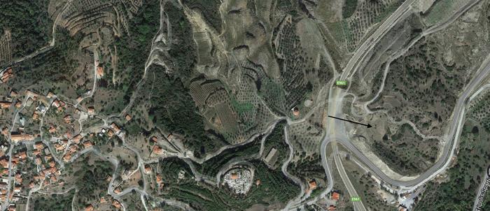 Land in Greece