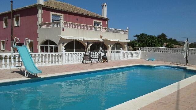 5 Bed Spanish Villa for Sale in Cehegin