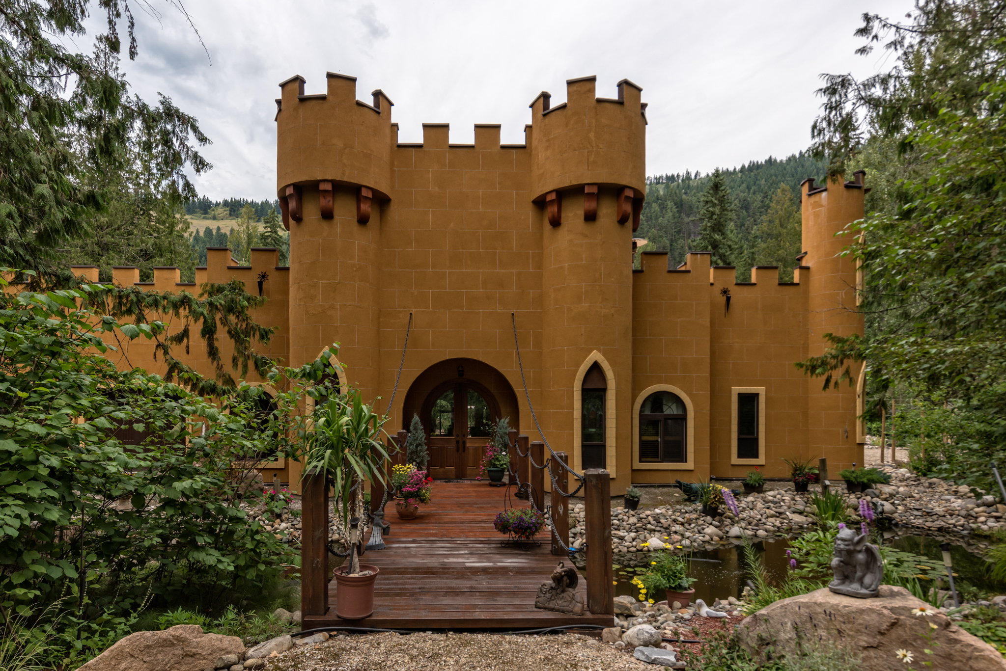 Castle on the River for Sale in British Columbia