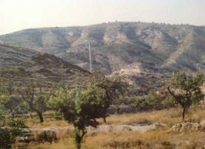 Large Plot of Land for Sale in Orxeta, Alicante